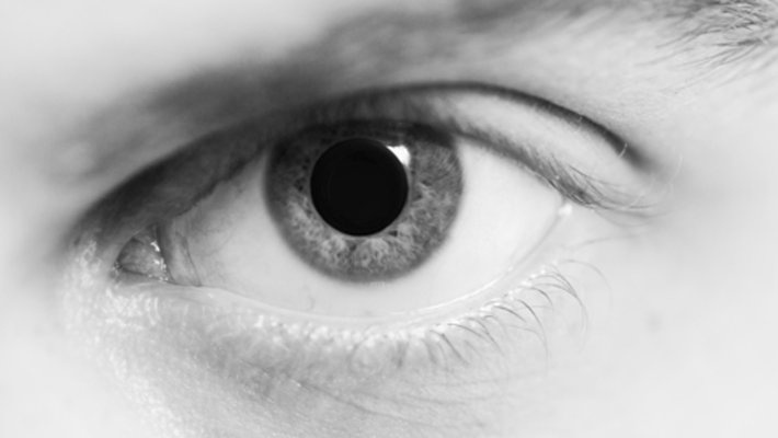 an individual who is under the influence of heroin will have dilated pupils.-3