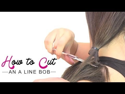 how to cut an a line bob step by step-4