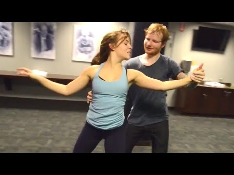 who is the dancer in thinking out loud-1