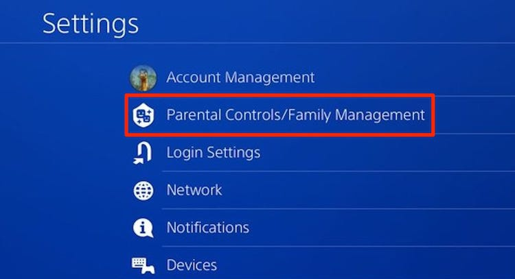 how to remove account from ps4-0