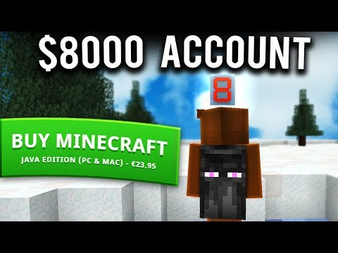 minecraft account for sale-1